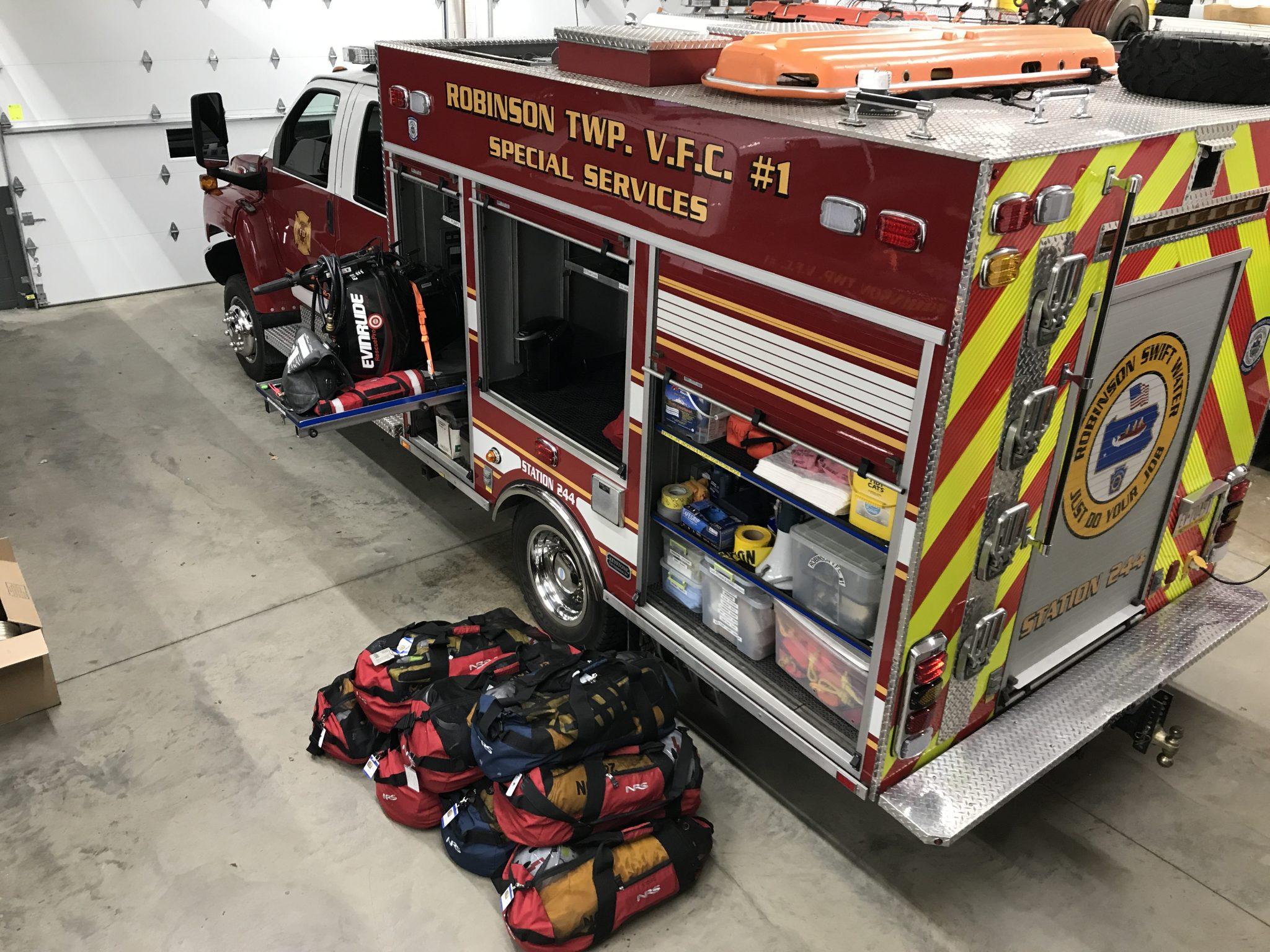 244 Apparatus • Robinson Township Volunteer Fire Company